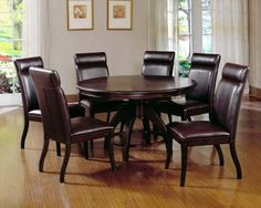Shop for Hillsdale Furniture Nottingham Dining Set, and other Dining Room Sets at Love's Bedding and Furniture in Claremont, NH. Dining Room Sets, Dining Table In Kitchen, Dining Room Design, Dining Room Furniture, Round Kitchen, Find Furniture, Kitchen Sets, Furniture Styles, Dining Tables