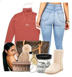 Ugg, lacoste, urban decay, kendra scott and fall outf Cute Swag Outfits, Dope Outfits, Casual Outfits, Fall Winter Outfits, Summer Outfits, Teen Fashion, Fashion Outfits, Fashion Ideas, Winter Fits