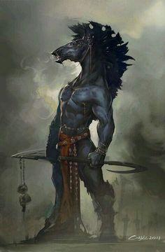Ipotane: Na mitologia grega eram uma rara criatura, meio homem meio cavalo. Eles foram considerados a versão original dos centauros.