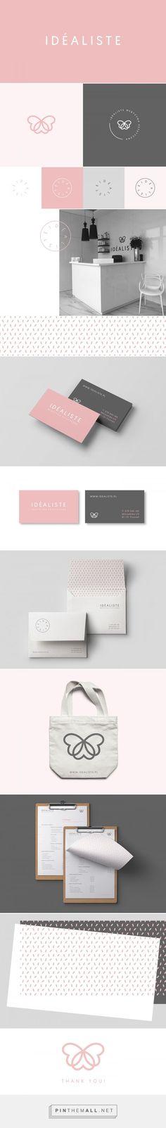 Idéaliste Aesthetic Medicine Branding by Rita Duczmańska | Fivestar Branding Agency – Design and Branding Agency & Curated Inspiration Gallery #FivestarBrandingAgency #designinspiration #cosmeticbranding #branding