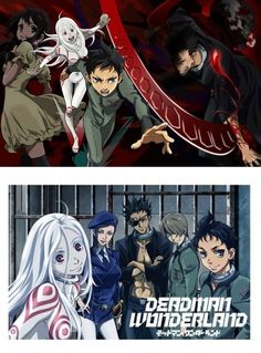 Even though I have yet to watch the anime, I'm starting to like Deadman Wonderland along with Casshern Sins. I have seen nothing but me and my handsome genderbending self, Minamo-chan and I thought...