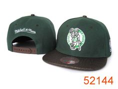 NBA Boston Celtics Snapback Hats Caps Mitchell And Ness 1988|only US$8.90