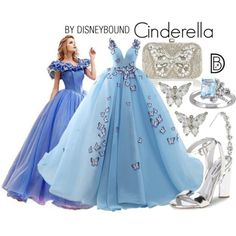 Are you a Disney fanatic? Then you have to check out these DisneyBound designs that will help you look just like Belle, Ursula, Genie and more for prom! Cinderella Outfit, Disney Princess Outfits, Disney Themed Outfits, Disney Dresses, Prom Dresses, Princess Tiana, Disney Clothes, Disneybound Outfits, Disney Prom