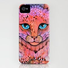 SUNSET CAT iPhone Case by Ola Liola - $35.00