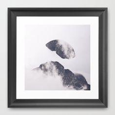 Face it.  Framed Art Print