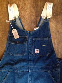 "Vintage 1960s 60s 1970s 70s GWG Red Strap blue indigo denim suspender back dungarees overalls 40"" x 30"" button fly workwear Union Made by TheDustbowlVintage on Etsy https://www.etsy.com/uk/listing/532878810/vintage-1960s-60s-1970s-70s-gwg-red"