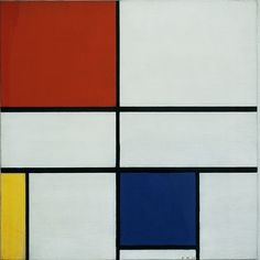 Above: Composition C (no.III), with Red, Yellow and Blue, 1935. © 2012 Mondrian/ Holtzman Trust c/o HCR International Washington DC.  from  'Mondrian / Nicholson: in Parallel',   The Courtauld Gallery, Somerset House, Strand, London WC2R 0RN  until 20 May 2012