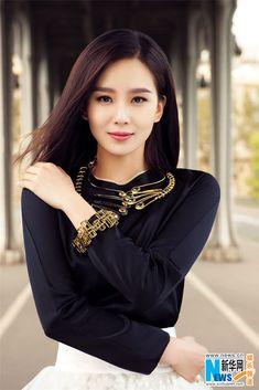 Liu Shi Shi is beautiful!