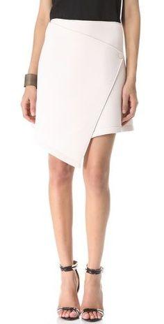 DIY Wrap Skirt from a Tshirt