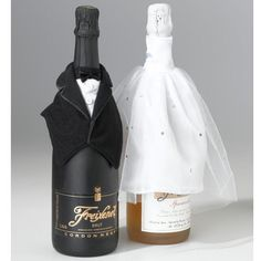 Find Lillian Rose Bride & Groom Bottle Cover Set with quantity discounts here, along with other wedding favors and shower gifts. Wedding Wine Bottles, Champagne Bottles, Wedding Groom, Bride Groom, Wedding Cake, Party Wedding, Fall Wedding, Wedding Favors, Dream Wedding