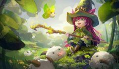 Little Leprechaun Lulu by chibi-oneechan.deviantart.com on @DeviantArt