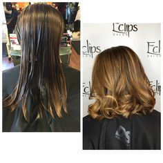 Stylist Cassidy took off several inches from this guest's hair to be in line with a growing out undercut! She loves her easier to manage hair! Reserve today: (703) 327-9408 or visit http://eclipsashburn.com