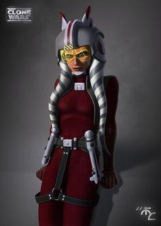 Rebel Commander Ahsoka Tano by *Master-Cyrus on deviantART