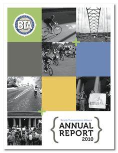 BTA Annual Report - MerrittMade graphic design