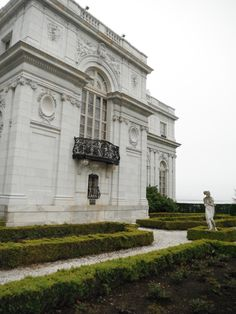 The Rosecliff mansion was designed by Stanford White, is modeled after Trianon, the garden retreat of French kings at Versailles.