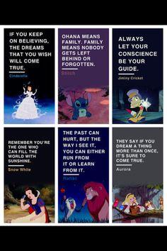 Disney's famous movie quotes