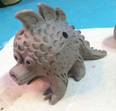 How to Build hollow clay whistle Sculptures