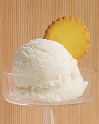 vanilla bean ice cream recipe (no eggs).