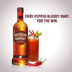 SoCo Fiery Pepper Bloody Mary:   - 2 oz. SoCo Fiery Pepper   - 6 oz. Bloody Mary Mix     - Squeeze of Lime
