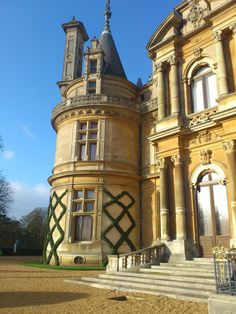 Waddesdon Manor, Aylesbury, England was my inspiration for Hawthorne Manor in Book#2 though Hawthorne Manor isn't as big as Waddesdon, it has the same style of architecture.