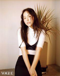 Min Hyo-rin // Vogue Korea