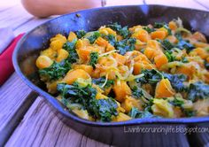 Kale and Butternut Squash Breakfast Hash