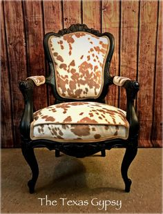 Excited to share the latest addition to my shop: Sold~Cow Hide Print Accent Dining Room Chair Cowhide Furniture, Cowhide Chair, Western Furniture, Home Decor Furniture, Dining Room Furniture, Furniture Makeover, Furniture Design, Cowhide Decor, Furniture Outlet