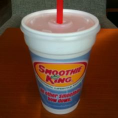 Smoothie king... Raspberry Sunrise!! :) Smoothie King Renaissance at Colony Park 601.856.4303 #shoprenaissance