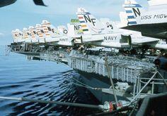 Us Navy Aircraft, Navy Aircraft Carrier, Military Aircraft, Essex Class, Navy Carriers, Navy Air Force, Capital Ship, F-14 Tomcat, Postwar