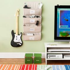 Chances are your son or daughter listens to music and may well have a handheld electronic video game console. These high-tech and expensive items need a safe place to stay when they are not in use, so that they don't get lost or broken.