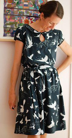 Sewing Pattern - Miz Mozelle Birds by Kelly Lea Sews, via Flickr