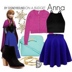 Disney Bound - Anna
