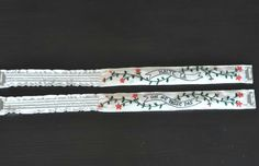 Embroidered Garters