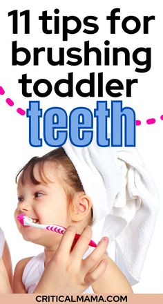 Here are the best tips for brushing toddler teeth. It can be difficult to convince your toddler that you need to brush their teeth because it is SO important for personal hygiene, but maybe you can bypass that and find a way to actually get the job done. Learn how to get kids to brush their teeth beginning in the toddler stage! You don't have to make it a huge war, instead learn how to make brushing teeth fun for kids so that they actually WANT to do it! #brushingteeth #kidsteeth… Mom Hacks, Baby Hacks, Parenting Toddlers, Parenting Advice, Toddler Teeth Brushing, Toddler Nutrition, Newborn Baby Tips, Single Mum, Terrible Twos