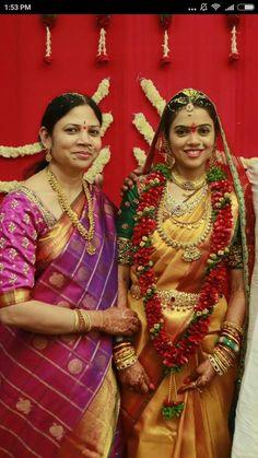 South Indian telugu bride