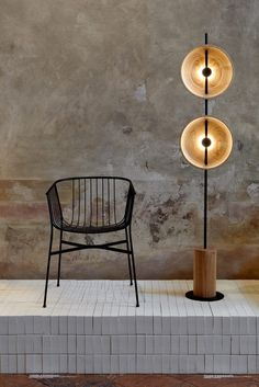 Tom Fereday's wire chair was created for new furniture brand SP01, whose unique selling point is that its furniture can withstand the Australian outdoors