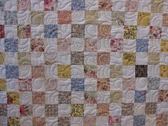 cute on a postage stamp quilting