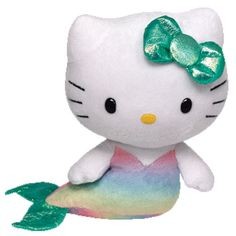 PURCHASED  TY Beanie Baby - HELLO KITTY (Mermaid - 6 inch) - PURCHASED