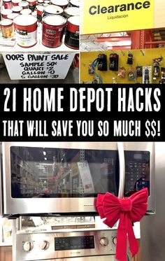 DIY Home Improvement Projects on a Budget! Home Depot has so many great supplies, and you won't believe how much you'll save with these little-known tips and tricks! Have you tried any of these yet??