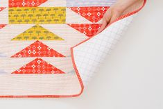 The Balance Quilt // May Pattern Drop Pattern | Pattern Drop