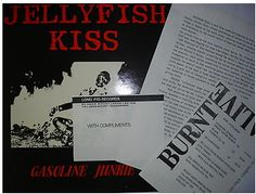 At £6.36  http://www.ebay.co.uk/itm/Jellyfish-Kiss-Gasoline-Junkie-Long-Pig-Press-Release-Pack-12-Long-Pig-Record-/261098546378