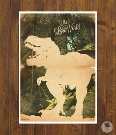 Hey, I found this really awesome Etsy listing at https://www.etsy.com/listing/158807641/jurassic-park-movie-poster-vintage-style