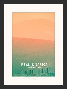 New to TheLittleSquares on Etsy: Lose Yourself - Peak District National Park Graphic Art Print made from Landscape Photograph.  Available in wooden frame (4.99 GBP) #wallart #photography #uk #landscapes #nature #print #framed #image #pretty #natural #photographer #style #display #explore #floral #wall #art #uk #yorkshire #original #creative #outdoors #display