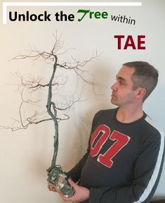 This is the chance to experience trees in a new way. Winter is the best time of the year to see the actual branches and trunk of the tree - without the leafy covering Wire Tree Sculpture, Sculpture Art, Deeper Life, Bonsai Styles, Peace Art, Wire Trees, Miniature Trees, Wabi Sabi, Copper Wire