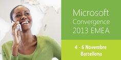 Alterna al #Microsoft Convergence 2013 EMEA, 4-6 Novembre a Barcellona. Un'occasione davvero imperdibile dove opportunità e innovazione si incontrano per offrire reale valore al business.