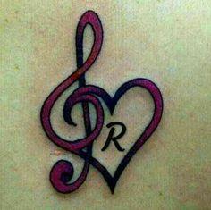 Alphabet Tattoo Designs, Mehndi Art Designs, Henna Tattoo Designs, R Letter Design, Alphabet Letters Design, Fancy Letters, Love Music Tattoo, Music Tattoos, Letter R Tattoo