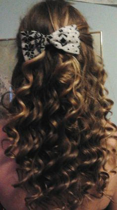My curling wand is almost as great as my best friend