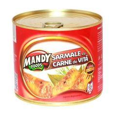 Sarmale cu Carne de Vită - Conservă easy-open, 500 g