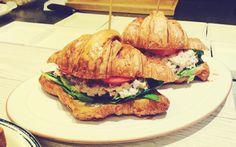 [1. 23 All about 샌드위치] 크리미 튜나 & 아보카도 크로와상 샌드위치