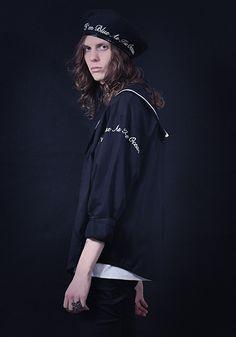ミルクボーイ 2017年春コレクション - マリン×ミリタリー、予想外のジェンダーレスな融合へ | ファッションプレス